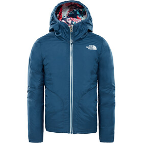 The North Face Rev Perrito Chaqueta Niñas, blue wing teal
